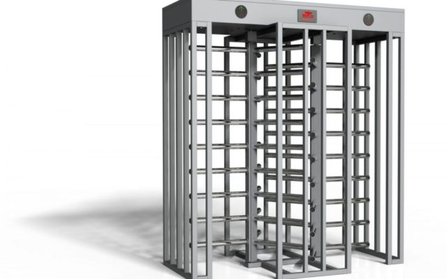 Full Height Turnstile Double Lane Stadium