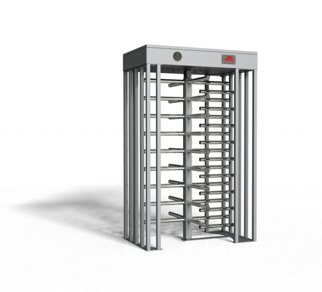 full height turnstile staium single lane