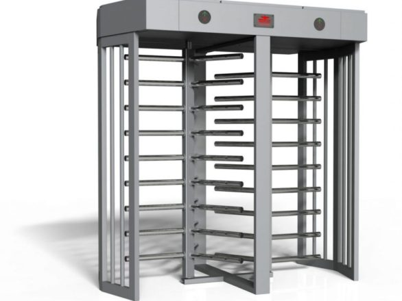 full height turnstile double