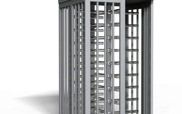 full height turnstile single stadium