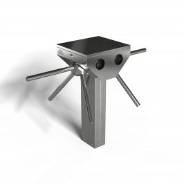 Tripod Turnstile Single Pedesatal Double Lane