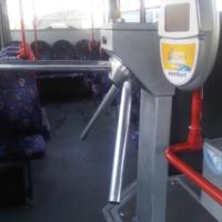 bus tripod turnstile